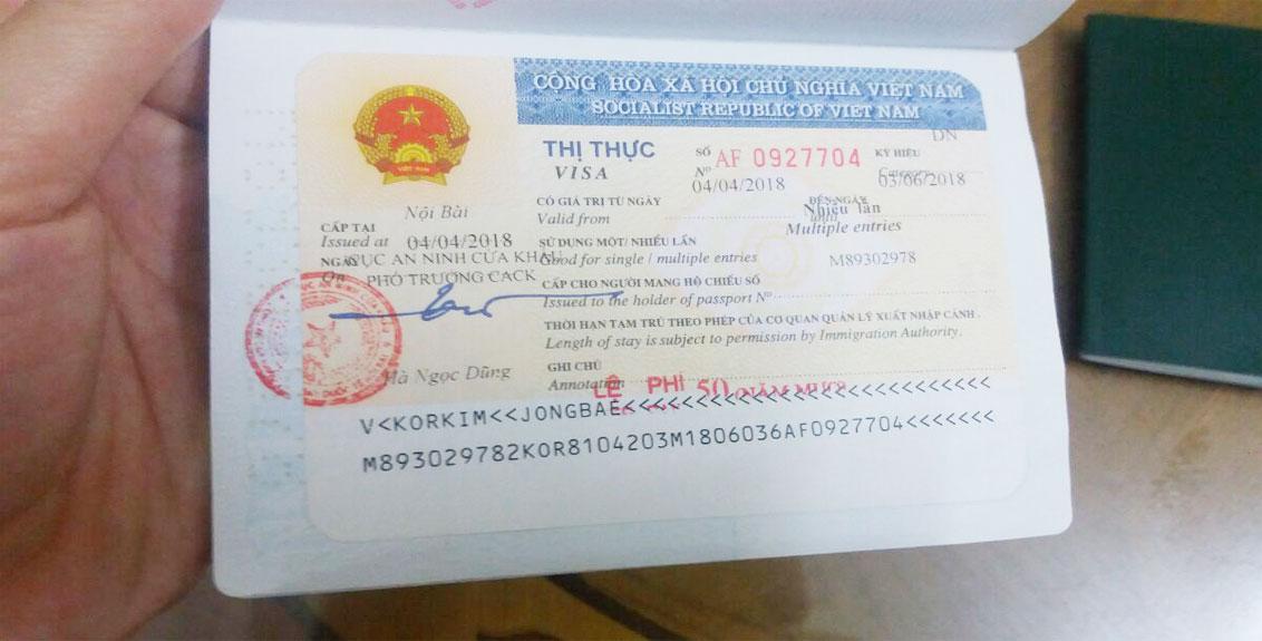 Quá hạn visa Việt Nam