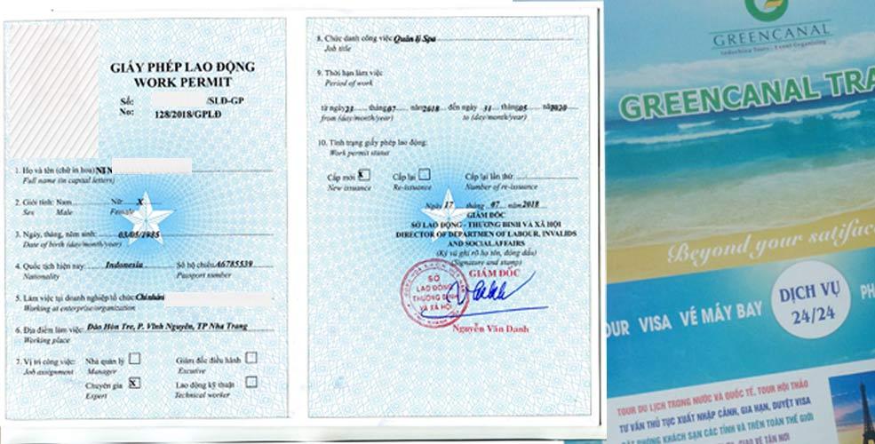 lam giay phep lao dong work permit