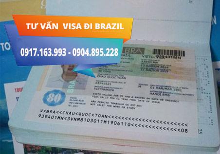 Dịch vụ làm visa đi Brazil giá rẻ