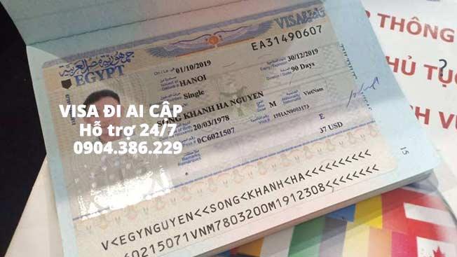 Đi ai cập có cần xin visa không