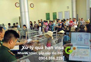 dịch vụ gia hạn visa quá hạn cấp tốc, gấp, khẩn, nhanh nhất