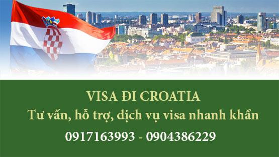 Dịch vụ làm visa đi Croatia tại Hà Nội giá rẻ nhất