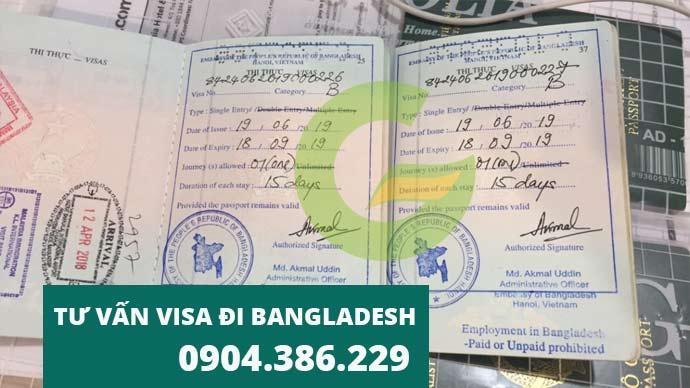 dịch vụ visa bangladesh - làm visa đi bangladesh giá rẻ