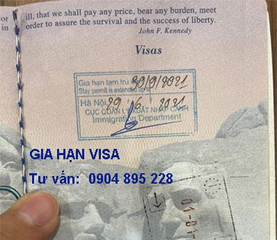thông báo mới nhất về gia hạn visa cho người nước ngoài