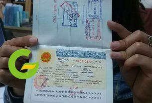 hết hạn visa ở việt nam - visa du lịch, công tác