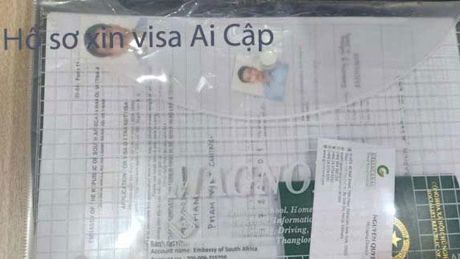 hồ sơ làm visa ai cập tại tphcm