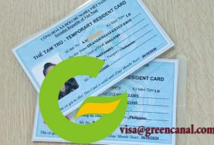 hồ sơ xin gia hạn thẻ tạm trú