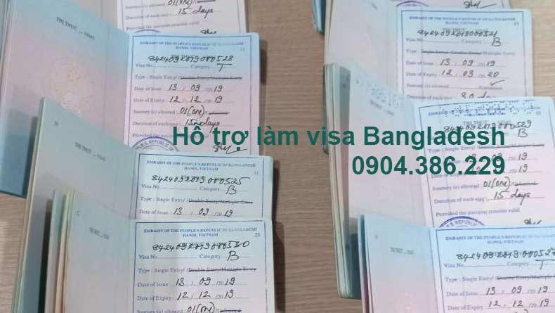 Làm visa bangladesh tại hà nội