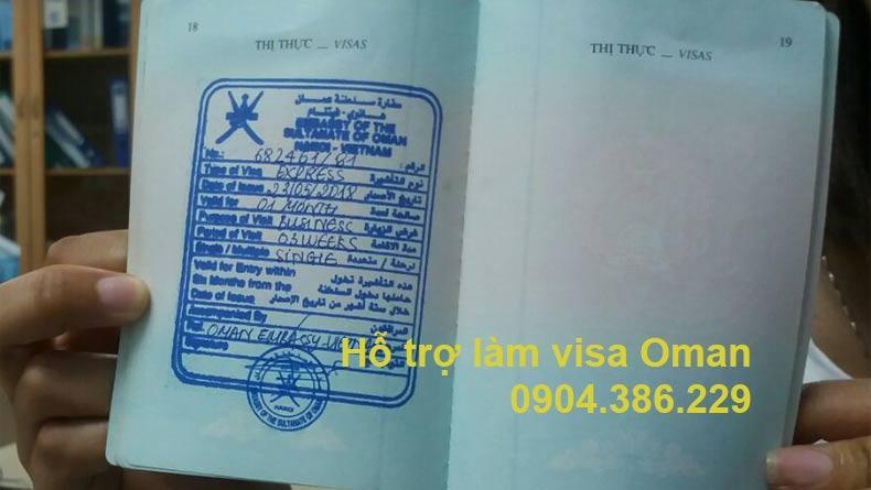 hỗ trợ làm visa oman công tác, hỗ trợ làm visa oman du lịch