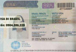 hướng dẫn 3 bước dễ dàng xin visa đi Brazil
