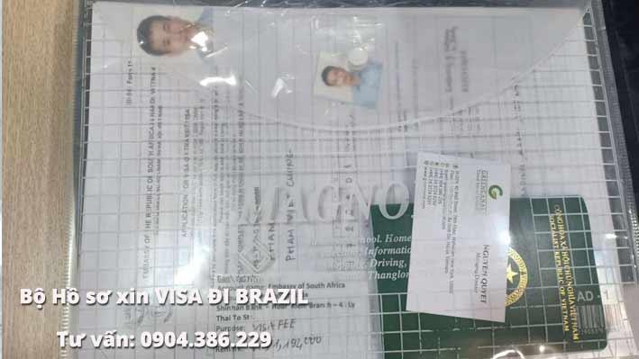 hướng dẫn hồ sơ xin visa đi brazil 3 bước