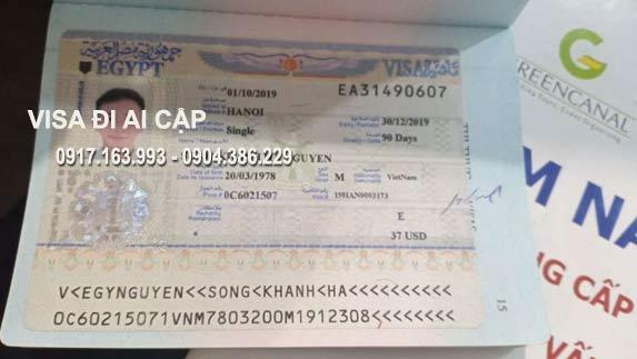 làm visa đi Ai Cập tại TPHCM uy tín