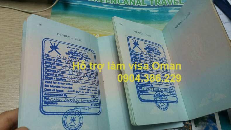 làm visa Oman công tác, làm visa oman du lịch