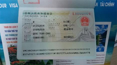 làm visa trung quốc gấp, khẩn, cấp tốc, nhanh