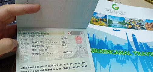làm visa trung quốc cấp tốc, gấp, nhanh khẩn trong ngày