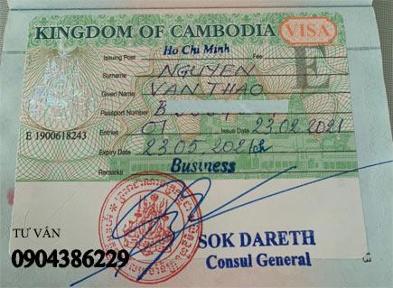 nhập cảnh vào campuchia - quy định thủ tục làm visa campuchia mới nhất