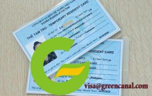 phí làm thẻ tạm trú cho người nước ngoài có tính thuế thu nhập cá nhân