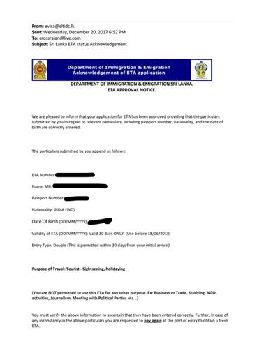quy trình thủ tục xin visa online