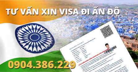 thủ tục xin visa ấn độ công tác, du lịch mới nhất