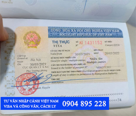 xin visa việt nam cho người đài loan thủ tục