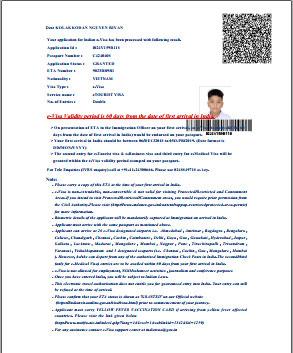 thủ tục xin visa ấn độ mới nhất
