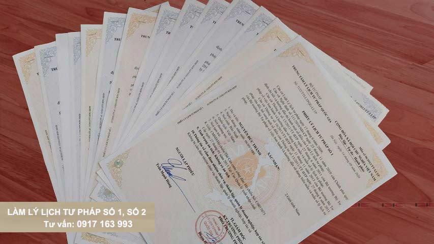 dịch vụ lý lịch tư pháp thái bình nhanh số 1 số 2