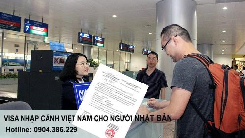 visa nhập cảnh việt nam cho người nhật bản